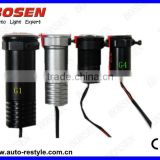 LED Shadow Light / LED Welcome Light / LED Car Logo Projector with Cree LED aluminum, Fourth generation,Second generation