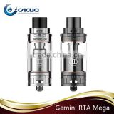 100% Authentic Vaporesso Gemini RTA mega VS girffin 25 RTA large stock
