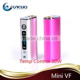 New temp controlled mod kangxin mini box mod e cig mods