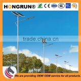 6m-12m 120W High lumen HP LED solar street light mainly used for urban main road and fast track