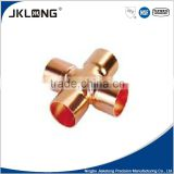 4 way cross copper fitting UPC NSF copper fitting,