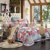 China factory printed and jacquard mixed home bedding set for adult