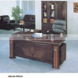 L shape wooden office executive table pictures
