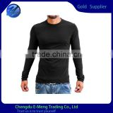 High Quality Soft 100 Cotton Mens Plain Long Sleeve T shirt