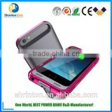 MFI External Protective Charging Case Extended Backup Battery Pack Cover Case For iphone5/5S/6