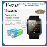 U Watch U8 Plus Bluetooth 4.0 Smart Watch Compatible Android OS & IOS Sync Phone Call & SMS Compass Pedometer