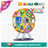 JM022429 yirun diy toys popular diy magnetic puzzle cube wholesale shatterproof christmas ball ornaments