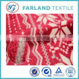 Christmas blankets double sided flannel fabric 100% polyester