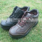 Men's durable leather upper,Outdoor leather shoes,fashion outdoor hiking shoes in sports shoes
