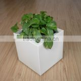 Ningbo Audemar Decorating Aluminum Flora Felt Living Wall Planter Vertical Garden In Powder Coating Treatment
