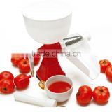 ABS+S/S+PP 41*20*35 Best selling products small tomato paste making machine/manual juicer/tomato slow juicer