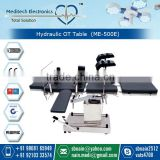 High Quality Hydraulic OT Table for Surgical Patient Treatment with Manual Locking System