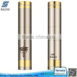 Kaluos China manufacturer ecig nemesis mod v2 caravela mod with brushed body 18350 and 18650 mechanical mod