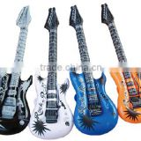 Factory price sale pvc inflatable guitar for party