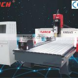 cnc router with rotary attachmen/200*2000mm rotary /4.5kw spindle /stepper motors/heavy duty structure/T-Slot clamping/Ncstudio
