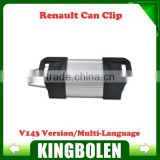 Wholesales Latest Version V143 Can Clip 19 Langauges For Renault Can Clip Diagnostic Interface Free Shipping