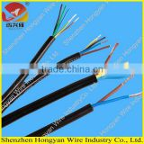 PVC insulated multi-core flexible cable, plastic jacketed multi core wire, flexible building wire RVV