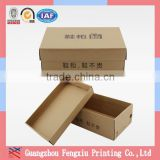 Top and Lid Cover Customized Printing Baby Craft Paper Shoe Box                                                                         Quality Choice