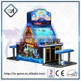 Pirate Hook amusement game and redemption machine