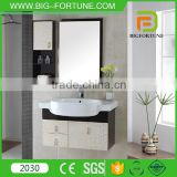Bathroom design single sink PVC modern bathroom cabinet                                                                         Quality Choice