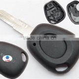 Discount renault key shell For 1 Button Renault Scenic Clio Megane Remote Key Fob Shell Replacement Case
