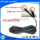 Free Sample 75 ohm Cable Custom Pigtail N female to SMA male Cable , RF Custom Cable Assemblies