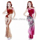 SWEGAL Wholesale newest sex belly dance sets professional dance costume SGBDT13163
