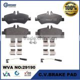 29190 MB sprinter auto disc brake pad