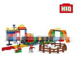 HIQ 86pcs plastic tech city big building bricks toys