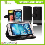 mobile phone leather case flip cover wallet case for samsung galaxy s4 case                                                                         Quality Choice