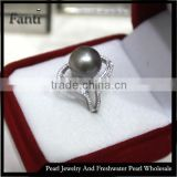 sun sea pearl price natural pearl moon ring real 925 silver ring