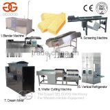 Ice Cream Wafer Maker/ Biscuit Production Line/Wafer Biscuit Making Machine
