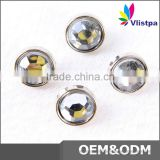 Metal button factory mixed clothing 4 hole plastic button for coat