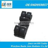 Master window switch for VW CC Tiguan Passat B6 Golf 5 6 Jetta MK5 MK6 5ND959857 5ND 959 857