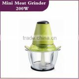 Electric Plastic Home Use Electric Meat Grinder Mini Chooper Multi-Function Chooper (HK-JY-B)