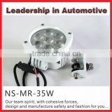 Super Bright Marine work light led work lamp 35W for farming mining Marine excavator boat truck