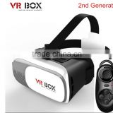 Magicbox VR Box V2 Play Virtual Reality Helmet 3D Glasses Google Movie Game Cardboard Film Oculus Rift DK2 +Bluetooth