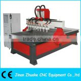 8 Heads Relief CNC Router ZK-1325-8