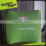 Tradeshow Display Exhibition Tension Fabric Curved Aluminium Tension Fabric Display Frame