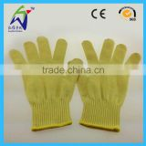 Level 5 Kevlar Cut Resistant Gloves Aramid Fabric Work Gloves