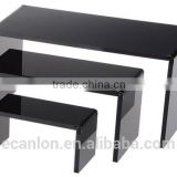black acrylic riser display stand for sale