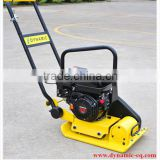 Gasoline pet bottle roller compactor machine HZR-60 used for earth-moving