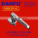 DAHFU ORIGINAL DOOR HANDLE CHA-10B HARDWARE SAFETY PUSH LOCK HANDLE LOCK GLASS DOOR LOCK