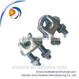 Guy clip/wire rope clamp/cable clamp/transmission line fitting
