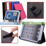 Black Universal Book Style Cover Case with Built-in Stand [Accord Series] For Ausus Memo Pad Me172 Tablet