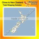 Full container load shipping to New Plymouth,New Zealand door delivery