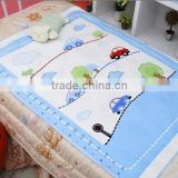 Soft Cotton Coral Fleece Cloth Waterproof Reusable Baby Infant Urine Mattress Pad / Mat manufactures from china