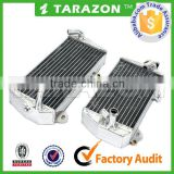 TARAZON CNC machined aluminum radiators suit for Kawasaki KX 250/450