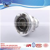 Forged Aluminium Fire Hose Coupling Storz Coupling/aluminium storz coupling with thread end