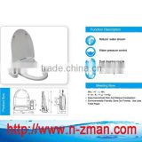 Dual Self-cleaning Nozzle Bidet Toilet Seat,Natural Water Spray Bidet Toilet Seat Attachment